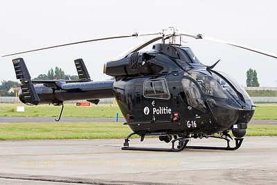 MD902 Explorer (G-16, cn900-00132) from the Federal Police, on the ramp during the Open Door at Melsbroek (EBMB).