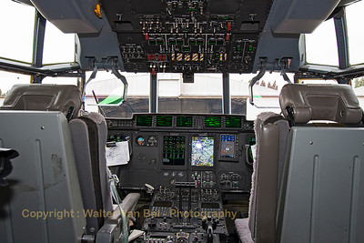 Cockpit-view of the Royal Danish Air Force C-130J (B-537, cn382-5537) from ESK721.