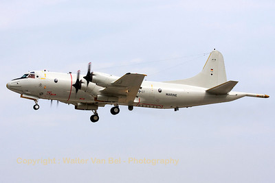 German Navy P-3C Orion (60+07, cn285E-5774) arriving over ETSI for a quick stop-over.