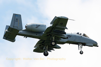 "This Idaho ANG A-10C (78-0625, cnA10-0245) from 124th FW/190th FS, is seen on final for RWY05 at Spangdahlem, after another mission in exercise ""Combined Resolve II""."