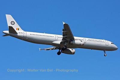 Belgian Air Force Airbus A321 (CS-TRJ; cn1004) on final for RWY05 at Spangdahlem Air Base.