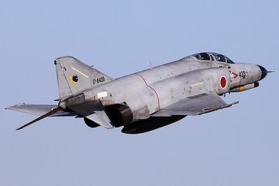 JASDF F-4EJ-KAI (17-8439; cnM139) from 301 Hikotai (Frogs), on take-off from Hyakuri's RWY03R.