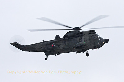 A German Navy SeaKing Mk41 (89+60; cnWA764/91) made a short visit at Wittmund.