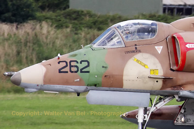 Close-up (extreme crop) of this colorfull A-4N Skyhawk from BAE Systems Flight Systems.