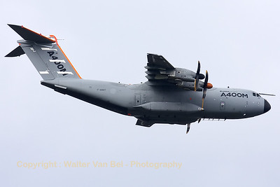"An Airbus A400M ""Atlas"" was also present during the Fly-past across Brussels on the Belgian National day (July21st)."