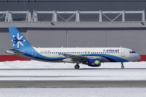 Interjet A320-200 (XA-YES)