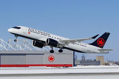 Air Canada A220-300 (C-GROV)