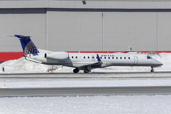 United Express ERJ-145XR (N14168)