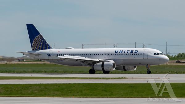 United Airlines A320-200 (N473UA)