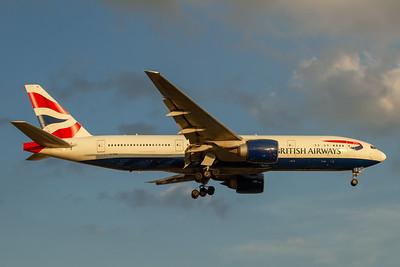 British Airways B777-200ER (G-VIIS)