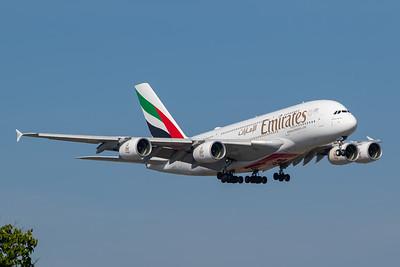 Emirate A380-800 (A6-EUJ)
