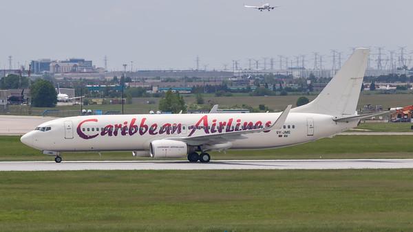 Caribbean Airlines B737-800 (9Y-JME)