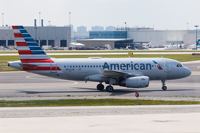 American Airlines A319-100 (N802AW)