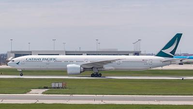 Cathay Pacific B777-300 (B-KPZ)
