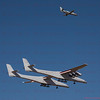 Stratolaunch first flight Mojave, CA. 04-13-2019,