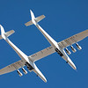 Stratolaunch takesoff at 7:29am on its 2nd flight from Mojave Air &Space Port, CA. 04-29-2021