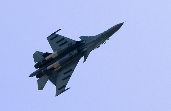 Su-30MKM from the 11th Squadron of the Royal Malaysian Air Force (2008)