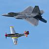 Heritage Flight F-22 & P-51