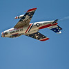 F-86 Sabre Inverted Pass