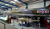 Supermarine Swift FR5 WK281, Tangmere aviation museum, 11 October 2014 2.  WK281 wears the colours of 79 Squadron.