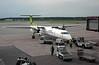 Air Baltic Bombardier Q400 NextGen YL-BAE, Stockholm Arlanda airport, 8 September 2014 1 - 1458