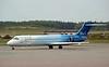 Blue1 Boeing 717-200 OH-BLI, Stockholm Arlanda airport, 8 September 2014 - 1441