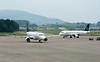 Lufthansa CityLine Embraer ERJ-195 D-AEBO & Swiss Airbus A320-200 HB-IJN, Zurich, Tues 16 June 2016 - 1627.