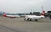 Air Berlin Airbus A320-200 HB-IOR & Swiss Airbus A321-200 HB-ION, Zurich, Tues 16 June 2016 - 1651.