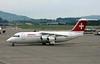 Swiss Avro RJ100 HB-IYR, Zurich, Tues 16 June 2015 - 1547.