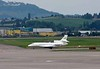 Dassault Falcon HB-JSS, Zurich, Tues 16 June 2016 - 1730.