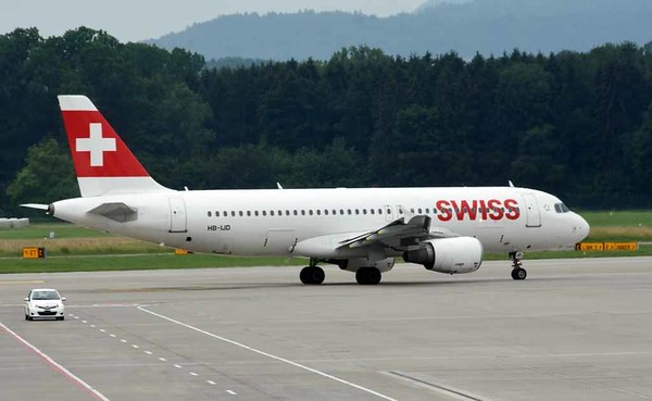 Swiss Airbus A320-200 HB-IJD, Zurich, Tues 16 June 2016 - 1709.