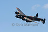 The BBMF Avro 683 Lancaster B1 reg PA474, makes a majestic flypast.