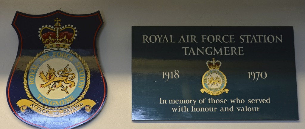 Welcome to Tangmere aviation museum!  Sat 11 October 2014.  RAF Tangmere is chiefly remembered for its role during the Second World War.  In 1940 its squadrons took part in the battle of Britain.  The following year, three of them were grouped into a wing commanded by disabled hero Douglas Bader.  Later, clandestine night operations were flown to German-occupied France to deliver and pick up secret agents working for the French Resistance.  After the war, the base was used for record-breaking high speed flights.