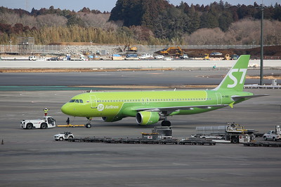 Siberia Airlines Airbus A320-214(WL), VQ-BRD, taxiing - 12/02/19