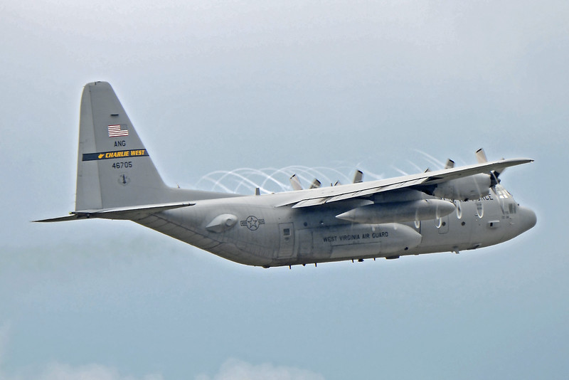 """Charlie West""<br /> C-130H from the 130th Airlift Wing<br /> Charleston, West Virginia"