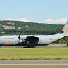 C-130J from Channel Islands, California Air Guard - cargo drop after Malaysia deployment