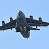 ZZ175 Royal Air Force Boeing C-17A Globemaster III on approach at Westover ARB, Chicopee, MA