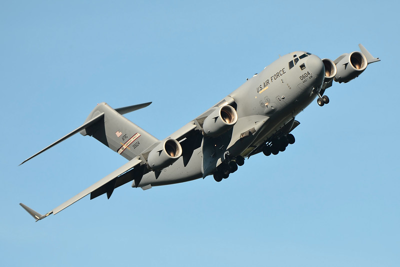 C-17A Globemaster III from Wright-Patterson Air Force Base, Ohio.