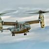 V-22 Osprey on hover
