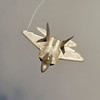 F-22 Raptor flight demo at Tuscaloosa Airshow
