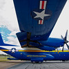 "Blue Angels ""Fat Albert"" at rest"
