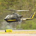 Cobra Helicopter flight demonstration at Tuscaloosa Airshow