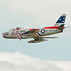 "F-86 Sabre ""Skyblazer"" piloted by Doug Matthews"