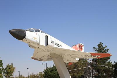 ex-USAF McDonnell Douglas F-4D Phantom II, 40952 / ED, plinthed outside Lancaster station - 27/08/16.