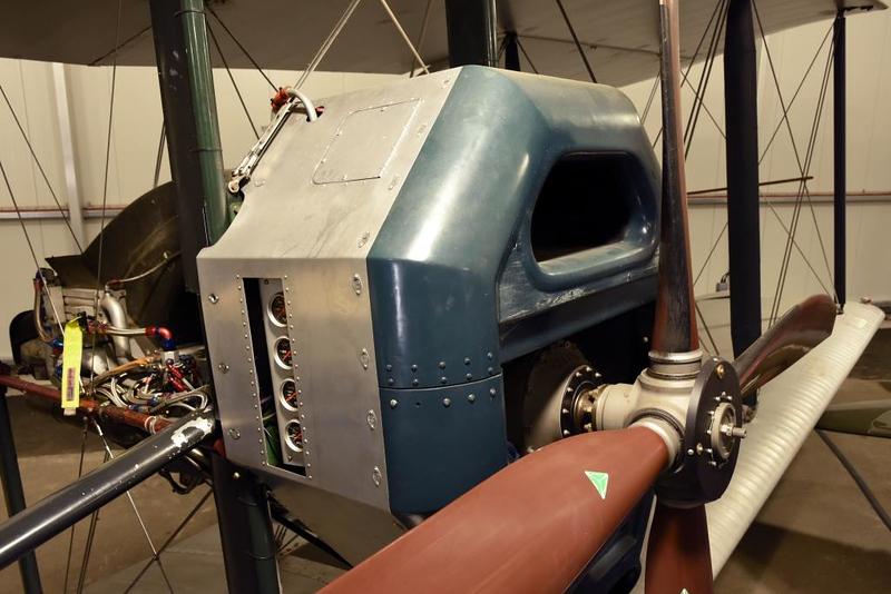 Replica Vickers Vimy NX71MY, Brooklands Museum, Weybridge, 14 June 2019
