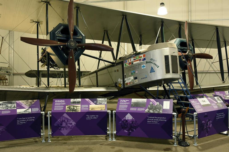 Replica Vickers Vimy NX71MY, Brooklands Museum, Weybridge, 14 June 2019