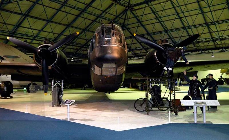 Vickers Wellington X MF628, RAF Museum, Hendon, 18 September 2007 2.