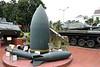 M-121 bomb, Museum of Military Zone 5, Da Nang, 12 March 2018 1.