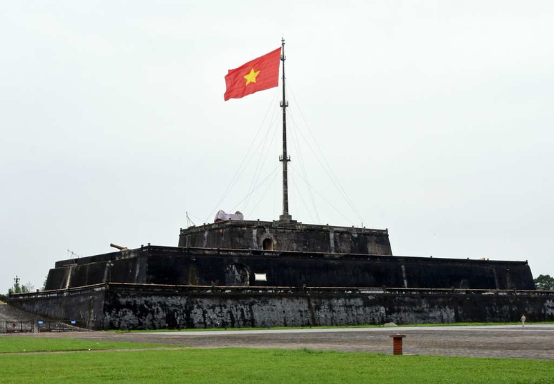 Hue Citadel flag tower, 10 March 2018.