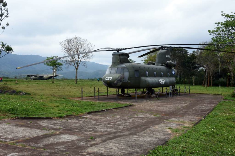 Boeing CH-47 Chinook 8025, Khe Sanh combat base museum, 9 March 2018 1.